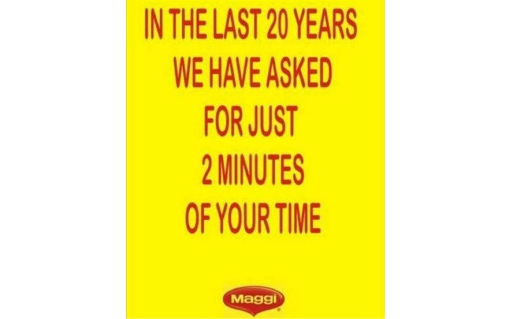 Maggi ad graphic