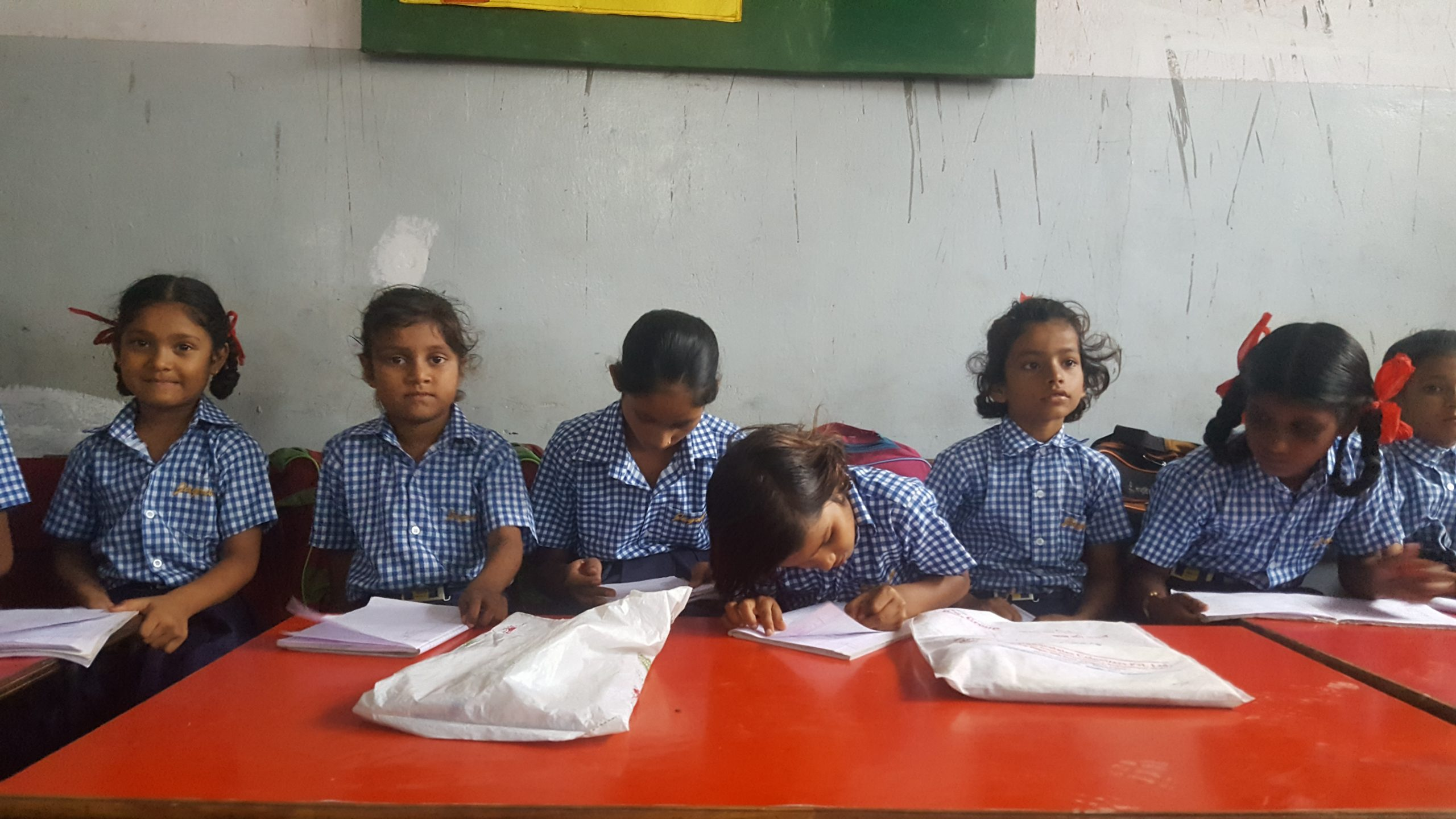 Improving the quality of education of underprivileged kids