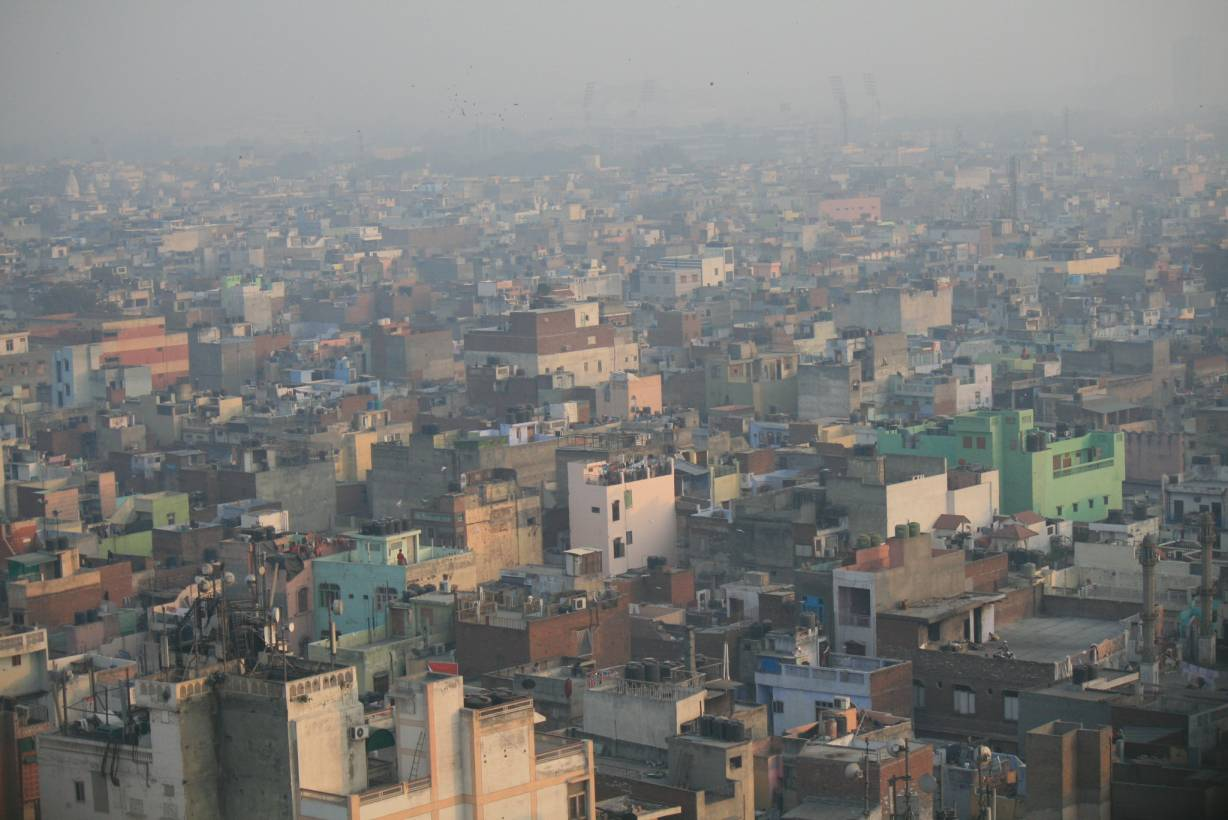 Air pollution in an Indian city_Flickr