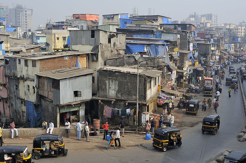 A small portion of Dharavi