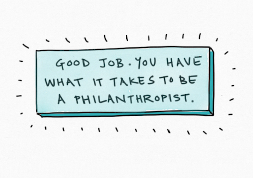 Feature Image Do you have what it takes to be a philanthropist
