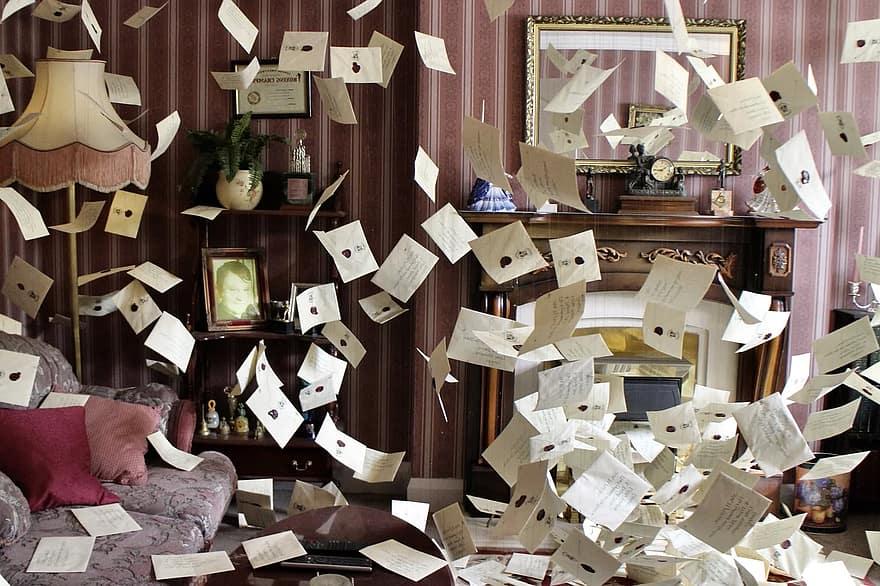 Harry Potter hogwarts letters_nonprofit humour
