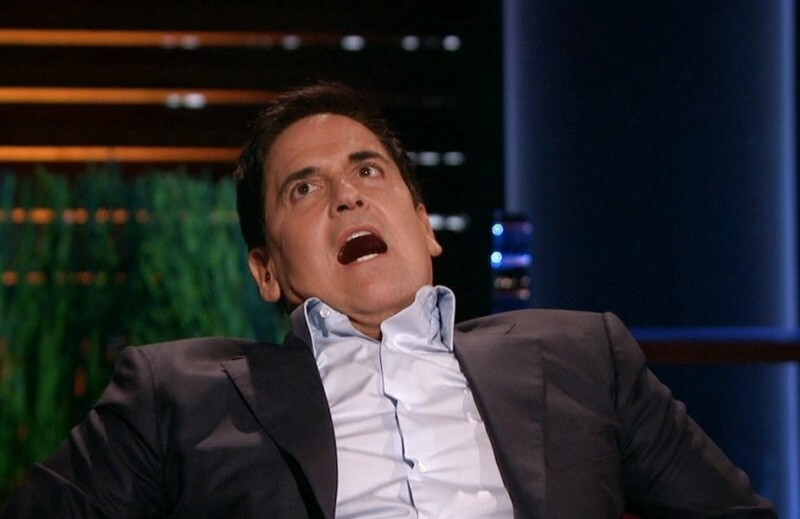 Mark Cuban making a funny face_nonprofit humour