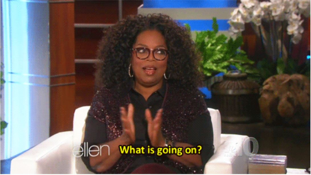Oprah WInfrey_what is going on_nonprofit humour