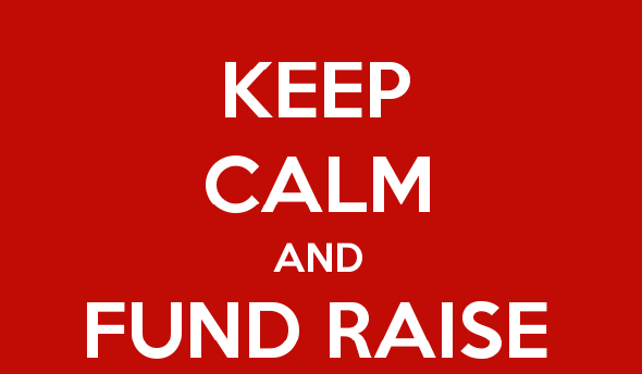 Poster - Keep calm and fund raise