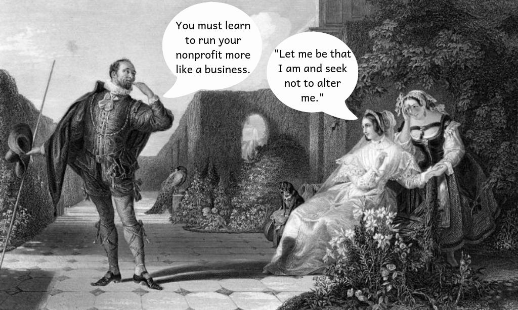 Shakespeare quote_nonprofit humour