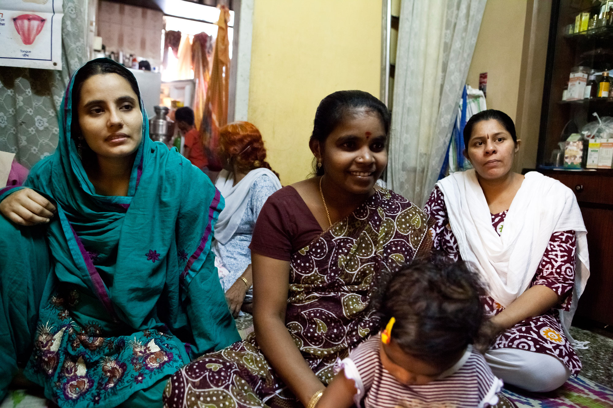 women in Dharavi programme implementation