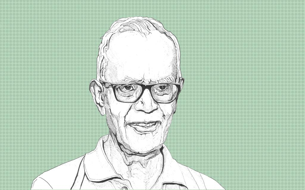 An illustration of activist and Jesuit priest Stan Swamy