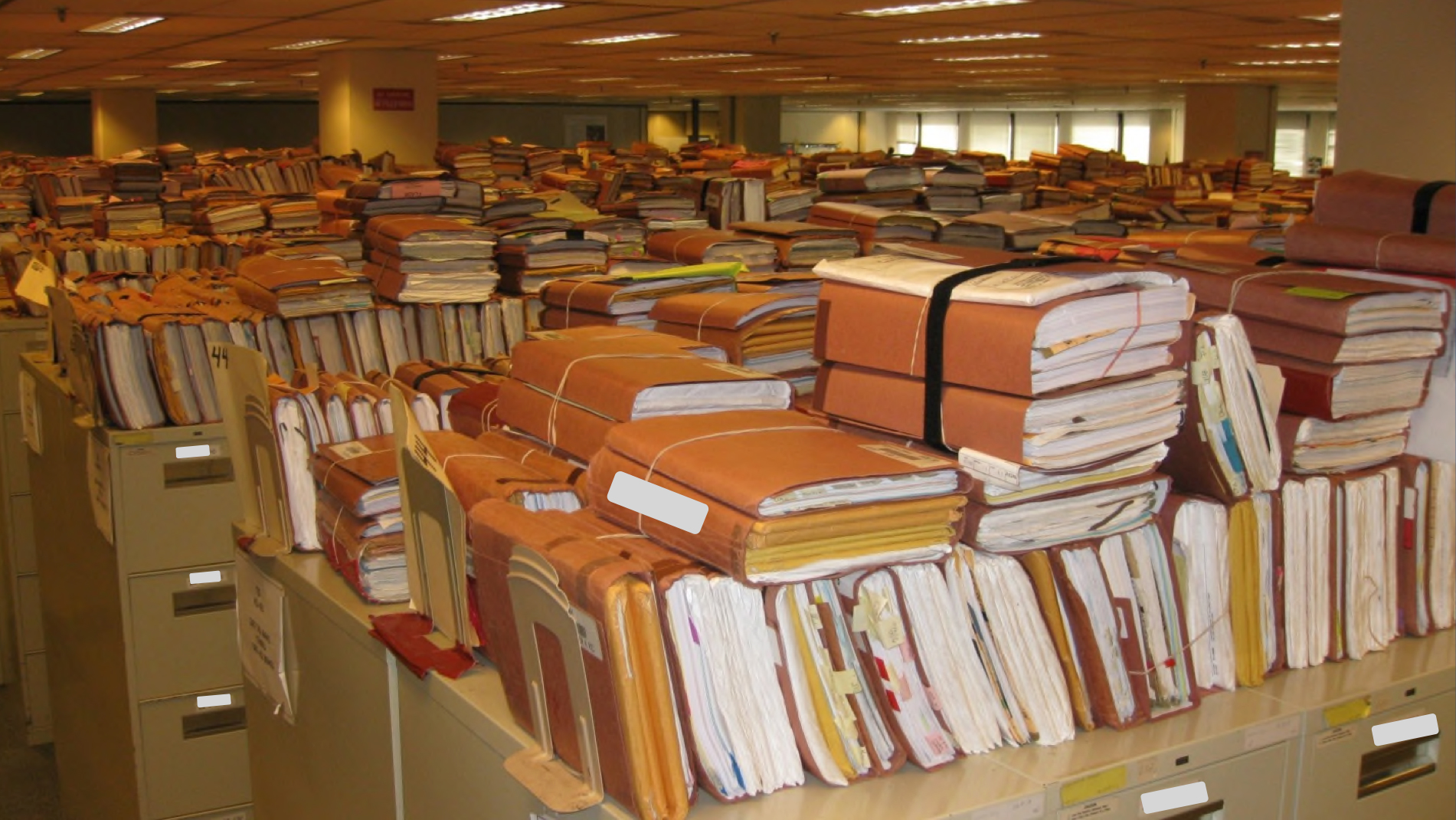 files and paperwork