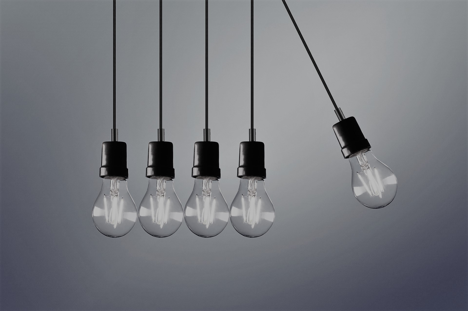 five light bulbs-open data