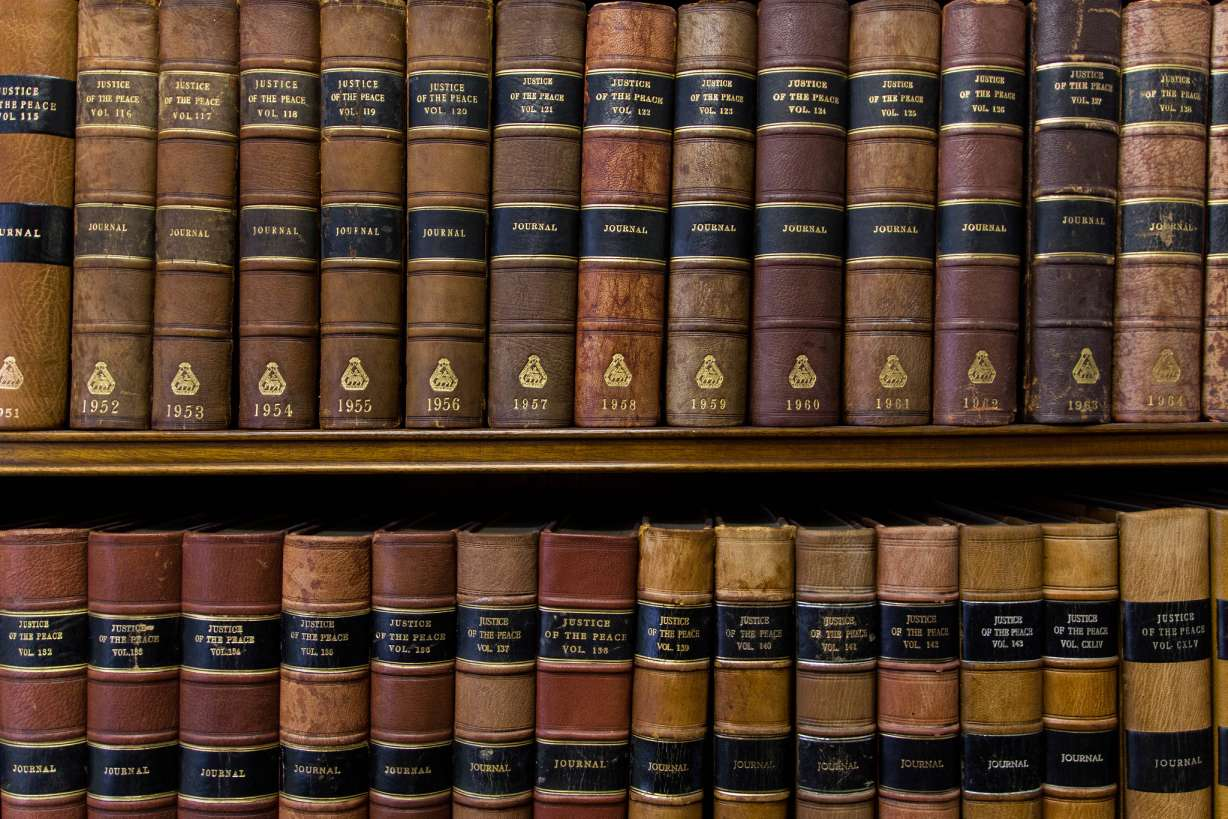 law books in a library-philanthropy law