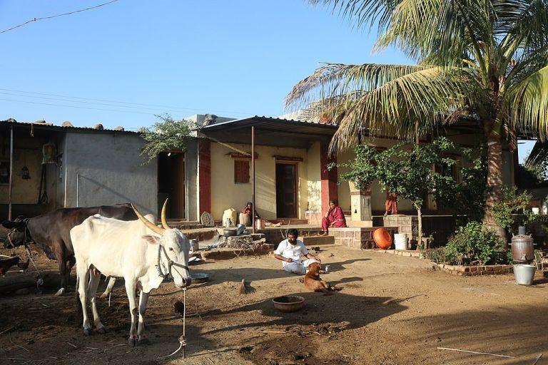 people sitting in a village house_coronavirus
