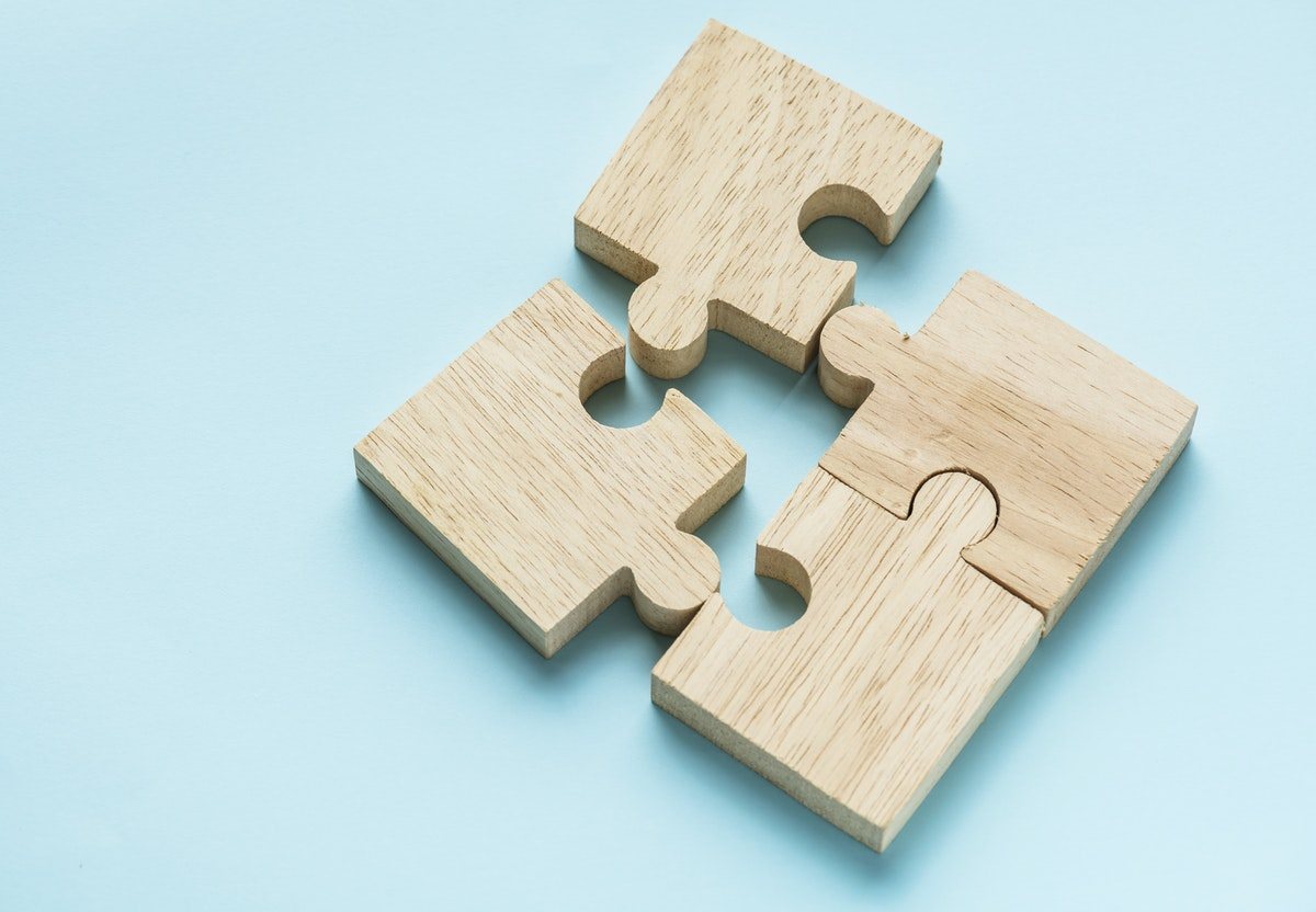 pieces of puzzle_social stock exchane_rawpixel