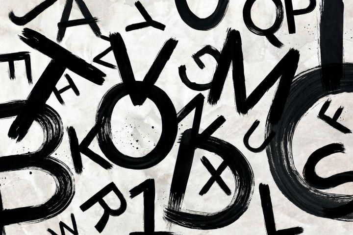 Random Letters graphic - Rawpixel