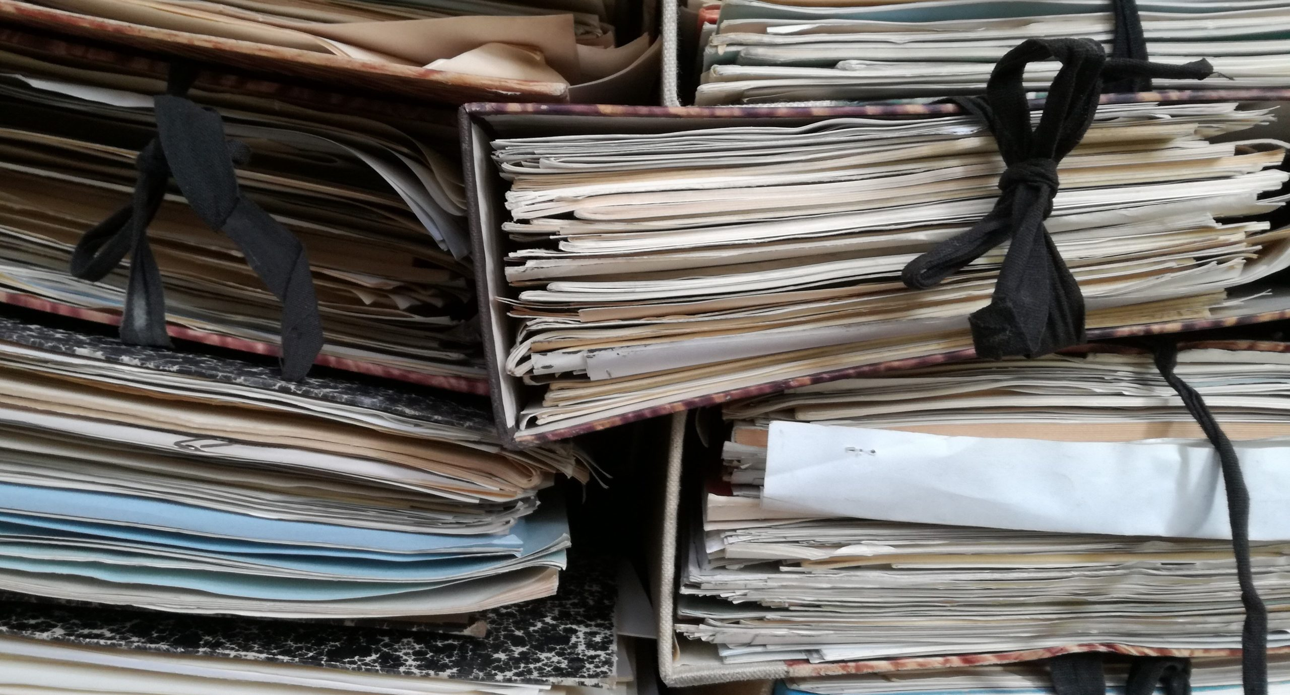 Files full of documents