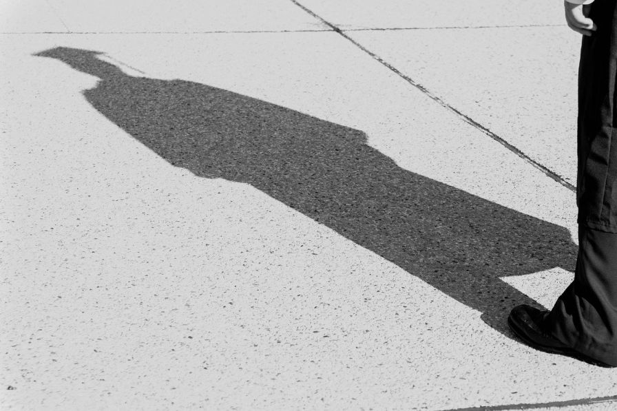 shadow of a person with a graduate cap-employment in india