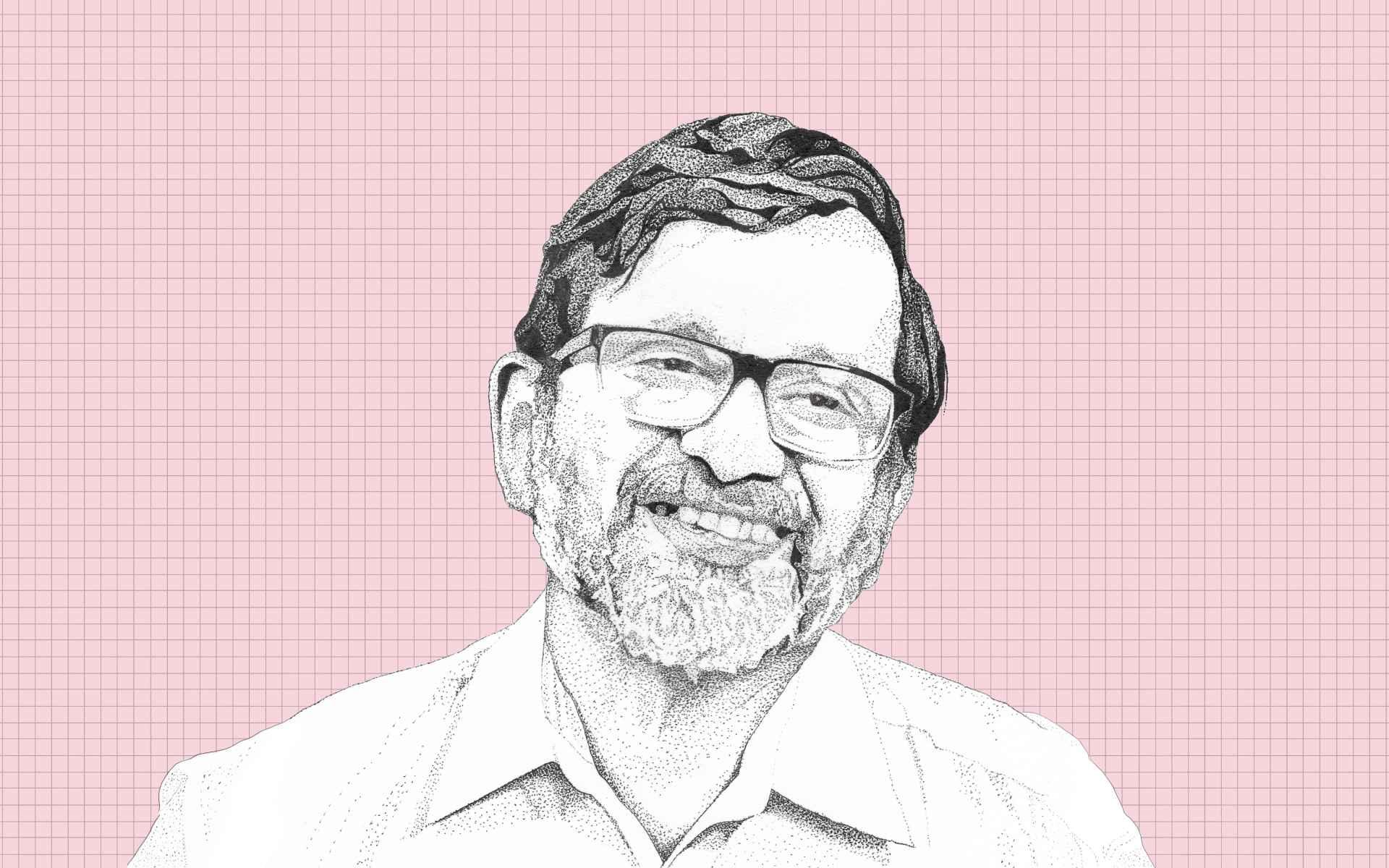 Dr John Oommen-illustration-Adivasi community-healthcare