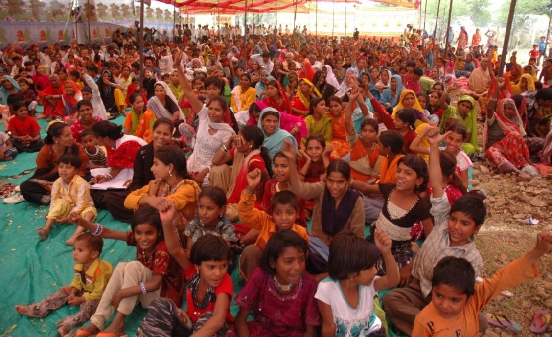 Jan sahas-community moblisation