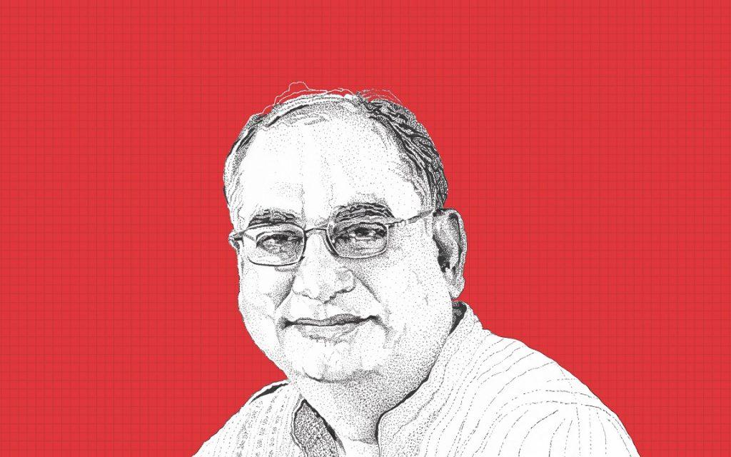 Vijay Mahajan illustration