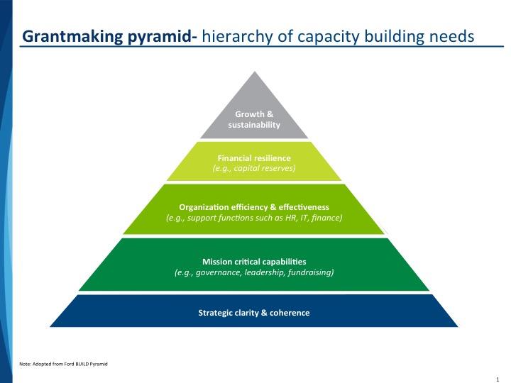 capacity building pyramid