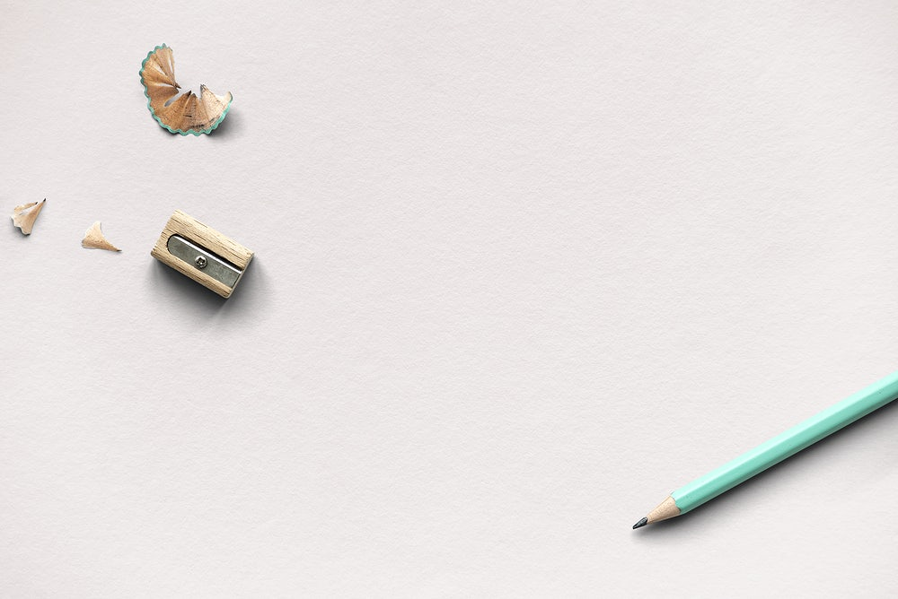 a pencil and sharpner_new education policy_raw pixel