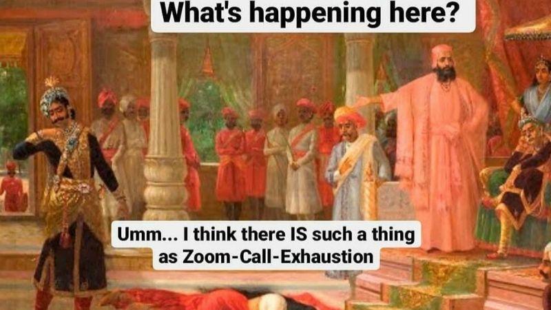 covid_nonprofit humour_rajaravivarmamemes1
