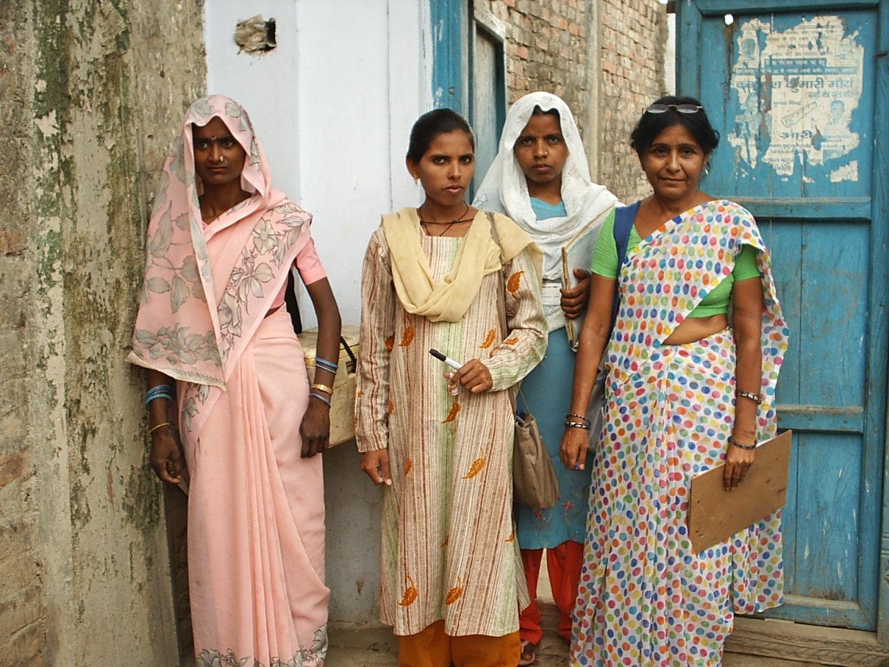 female health community worker in India