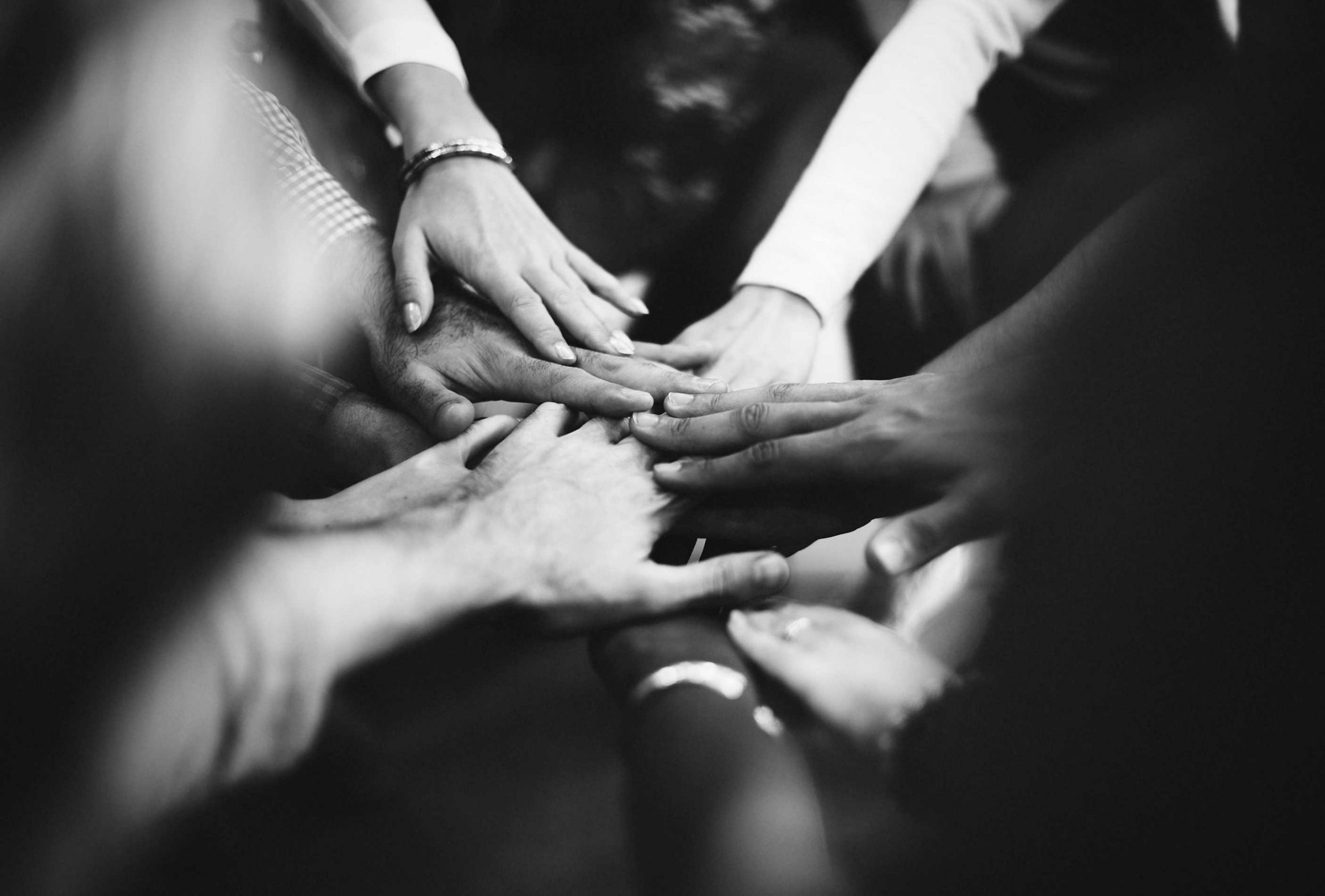 hands put together in collaboration_rawpixel