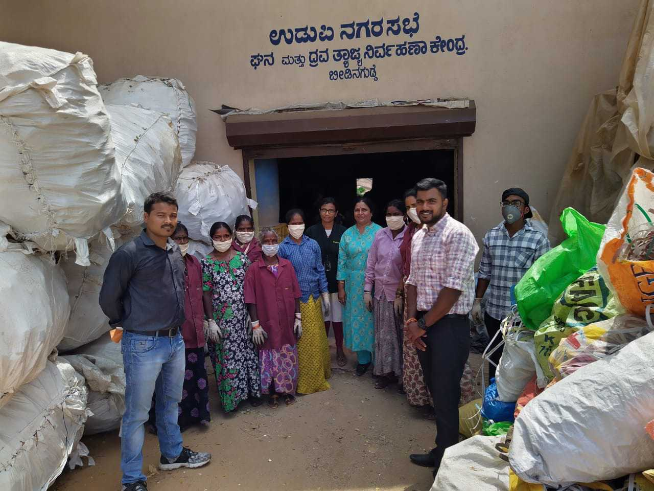 waste management SHG Udupi