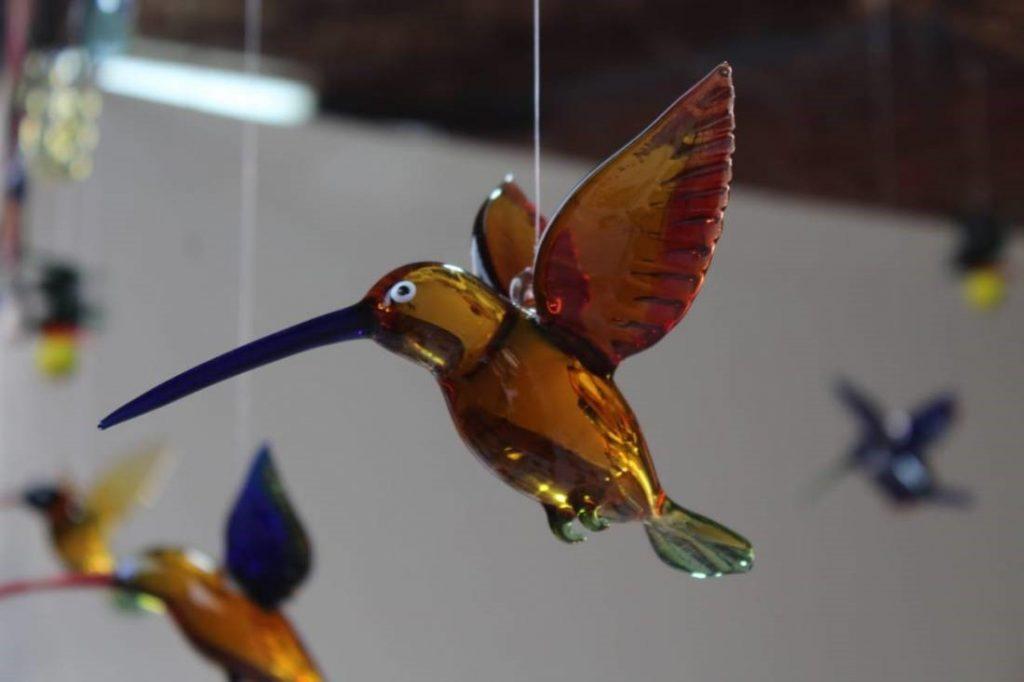 Humming birds figurines-oxygen