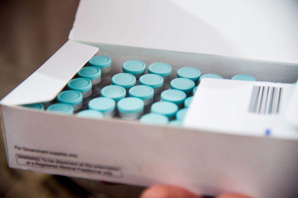 vaccine vials-COVID-19 vaccine