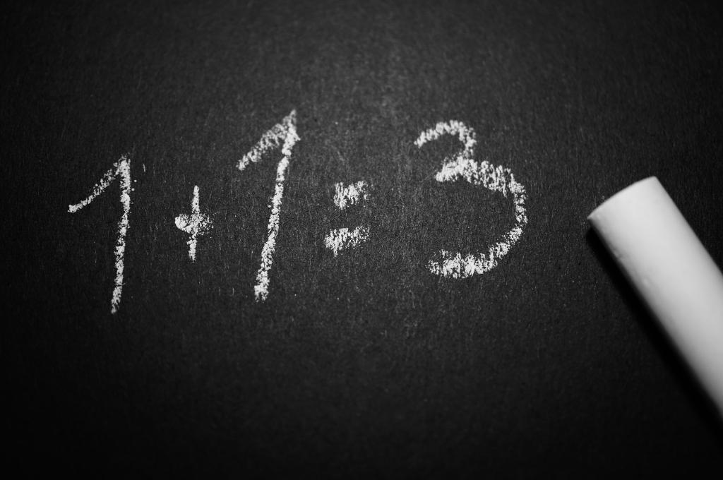 wrong math problem on board-philanthropy funding nonprofits