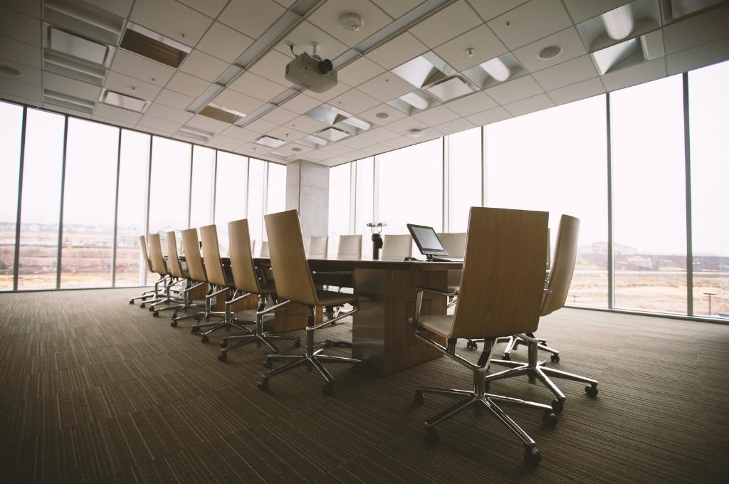 office board room-Muslim women Indian workforce