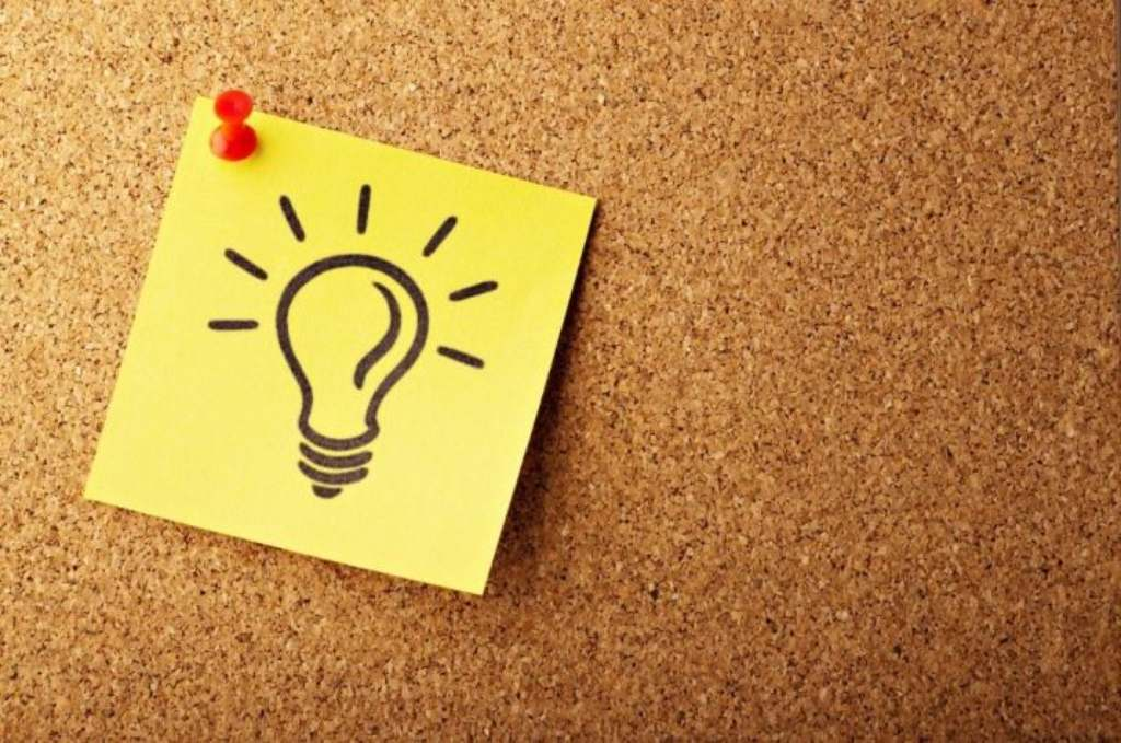 light bulb drawing pinned to a corkboard-unrestricted grants