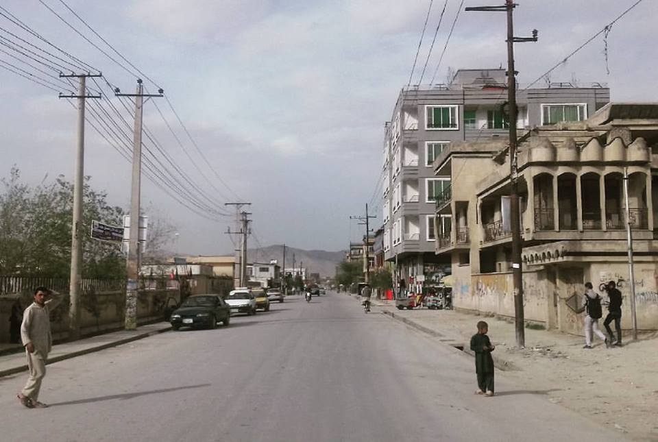 Afghanistan empty roads with people- image credit wikimedia commons