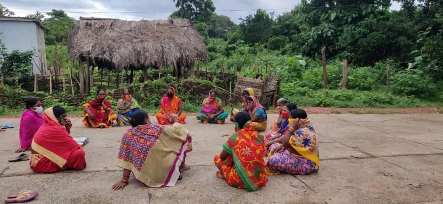 SHG meeting Odisha_mental health-women-Photo courtesy: PCI India