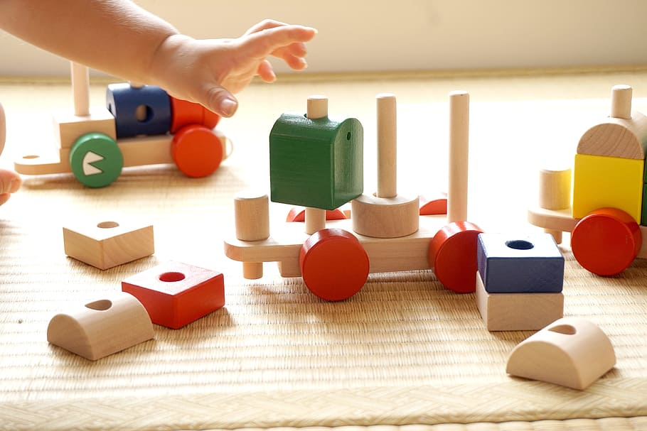 Children's colourful building blocks-Public service delivery-Picture courtesy: Pxfuel