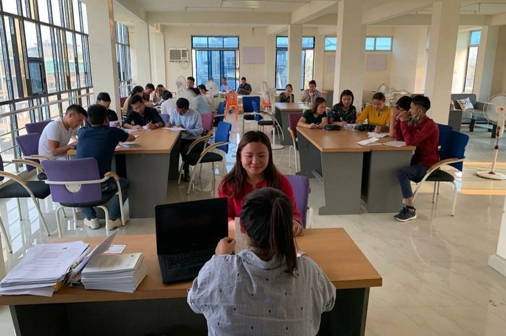 Training young people for job interviews-youth employment
